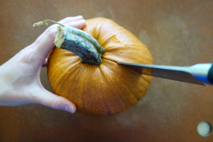 How to Roast a Pie Pumpkin for Puree | This is so Good...