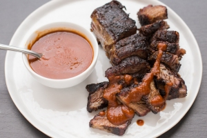 Barbecue Boneless Beef Short Ribs (photo owned by The Domestic Man)