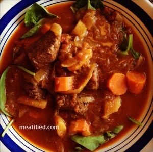 Paleo Salsa Short Rib Stew (photo owned by Meatified)
