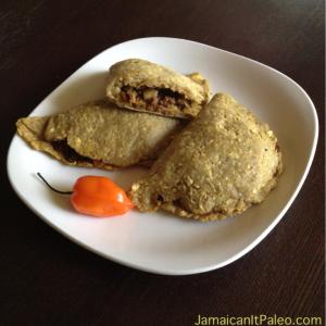 Jamaican Beef Patty (photo owned by Jamaican it Paleo)